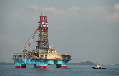 floating drilling rig