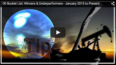 TipTV Interview: Oil Bucket List – Winners and Underperformers