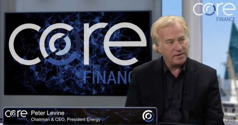 Core Finance CEO interview: Peter Levine of President Energy