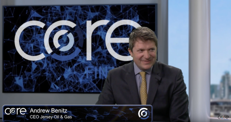 Core Finance CEO interview: Andrew Benitz of Jersey Oil & Gas