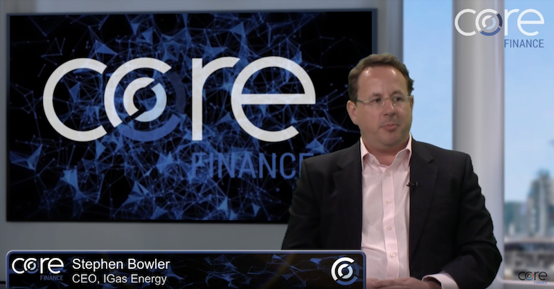 Core Finance CEO interview: Steve Bowler of IGas Energy