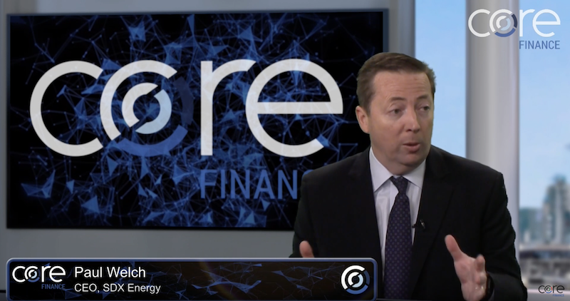 Core Finance CEO interview: Paul Welch of SDX Energy