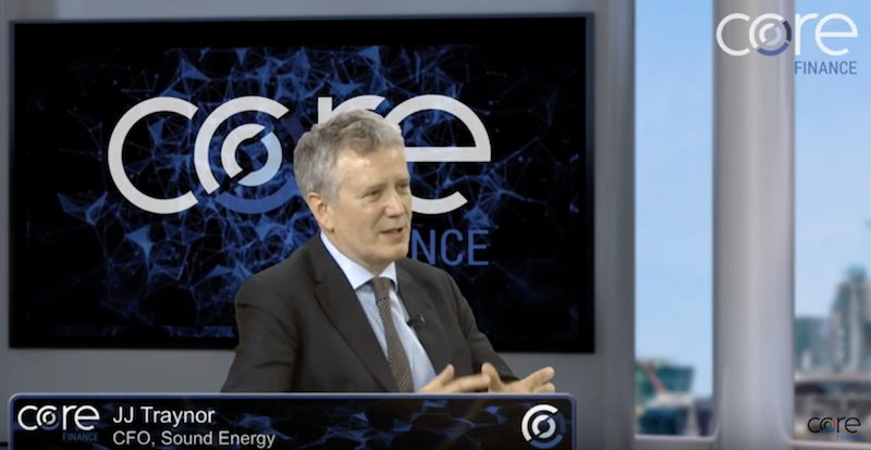 Core Finance interview: Dr JJ Traynor of Sound Energy