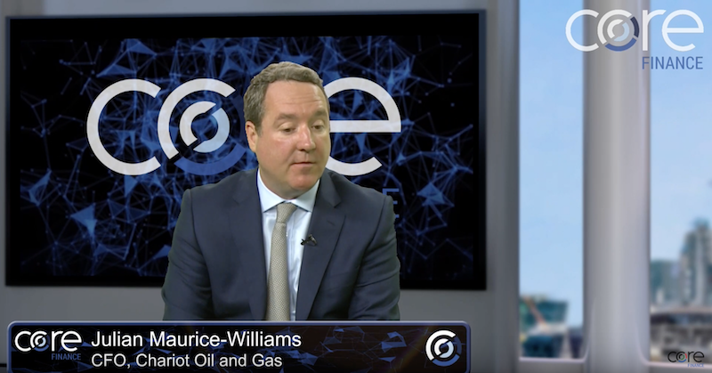 Core Finance interview: Julian Maurice-Williams of Chariot Oil and Gas