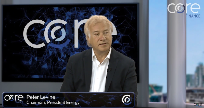 Core Finance interview: Peter Levine of President Energy